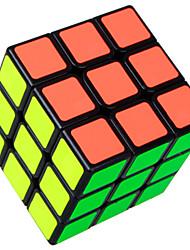 Shengshou® Cube velocidade lisa 3*3*3 Velocidade Cubos Mágicos Preta / Branco ABS