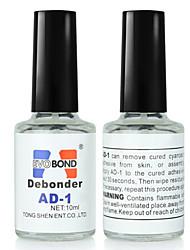 1PCS 10ml False Eyelash Glue & Nail Glue Remover Liquid Debonder