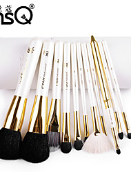 MSQ® 11pcs Makeup Brushes set Goat/Wool hair Hypoallergenic/Limits bacteria White Blush brush Shadow Brush Cosmetic Brushes kit