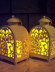 Valentine'S Day European Mediterranean Storm Lantern Craft Gift Iron Candlestick