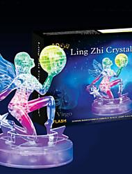 Quebra-cabeças Quebra-Cabeças 3D / Quebra-Cabeças de Cristal Blocos de construção DIY Brinquedos 38 ABS Modelo e Blocos de Construção