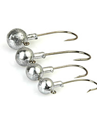 Fishing-10 pcs Silver Metal-Brand New Sea Fishing / Spinning / Freshwater Fishing / Bass Fishing / Lure Fishing / General Fishing
