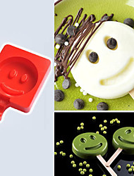 Food-grade silicone creative homemade ice cream popsicle mold, DIY ice cream cake mold