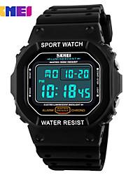 Men's Women's Unisex Sport Watch Digital Watch LCD Calendar Chronograph Water Resistant / Water Proof Dual Time Zones Sport Watch Digital