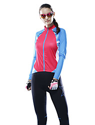 MYSENLAN Cycling Tops / Jerseys Women's Bike Breathable / Lightweight Materials Long Sleeve Inelastic Polyester / TeryleneFashion / Slim