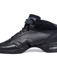 Customizable Women's/Men's Modern Dance Shoes/Sneakers in Black