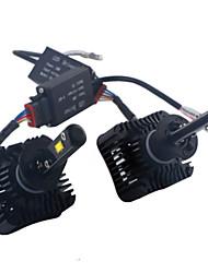 2pcs 2013-2014year camioneta 4x4 3000lm llevó la linterna H7 luz de carretera llevó kit de faros H7 llevó kit de luz de cruce del faro