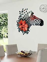 Tiere / Botanisch / Mode / Fantasie Wand-Sticker Flugzeug-Wand Sticker,PVC 50*70cm(19.7*27.6 inch)