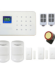 Wireless GSM Alarm System G18 Touch TFT Display Door PIR Alarmas for Smart Home Security Android IOS App & Call Control