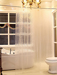 Creative 3D Water Cube PEVA Thickening Shower Curtain