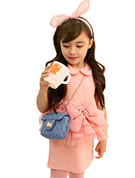 Girl's Cotton Summer Bowknot Princess Lace Dress
