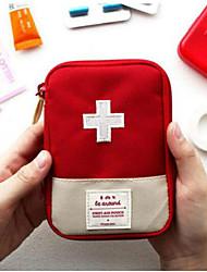 Travel Travel Bag / Travel Pill Box/Case Travel Storage Portable Fabric