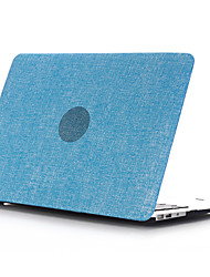 "pc style coquille plate denim pour pour macbook pro rétine 13 ""/ 15 (couleur assorties)"