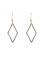 Earring Drop Earrings Jewelry Women Wedding / Party / Daily / Casual / Sports Copper 1 pair Coppery