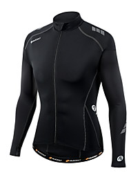 NUCKILY Bike/Cycling Jersey / Tops Men's Long SleeveBreathable / Ultraviolet Resistant / Moisture Permeability / Anatomic Design /