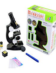 conjunto de la investigación científica y la educación infantil microscopio