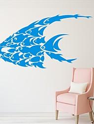 Animales / Romance / De moda Pegatinas de pared Calcomanías de Aviones para Pared,PVC S:37*70cm / M:44*84cm/ L:58*110cm
