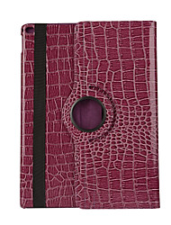 360 Degree Crocodile Pattern PU Leather Flip Cover Case for iPad Air