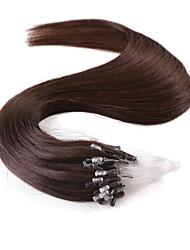 neitsi® 20inch micro anneau boucles extensions de cheveux humains sonne cheveu humain # 2