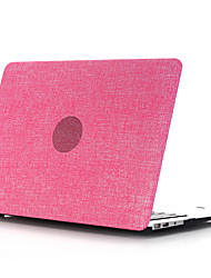 pc style coquille plate denim pour macbook air 11 '' / 13 '' (de couleurs assorties)