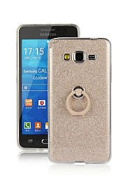 For Samsung Galaxy Case Ring Holder Case Back Cover Case Glitter Shine TPU Samsung Grand Prime