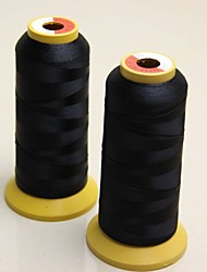 Weaving Threads for Machine Weft Hair Extension Professional Virgin Human Hair accessories & Tools Black