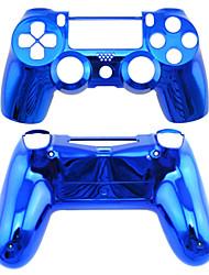 Ersatz-Controller Fall für PS4-Steuerung PS4 Fall Plattierung (grün / blau)