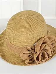 Korea Fashion Straw Hat Flowers