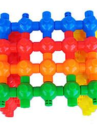 Várias Cores Plástico Blocos de construção DIY Brinquedos