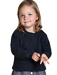 Girl's Sweater & Cardigan,Cotton Winter Black / White / Gray