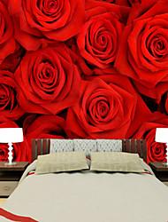 fond d'écran / Mural Fleur Papier peint Contemporain Revêtement,Autre Oui