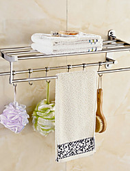 Towel Warmer Mirror Polished Wall Mounted 60*23*18cm Stainless Steel Contemporary