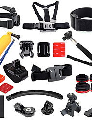 Gopro Accessories Front Mounting / Monopod / Accessory Kit / Mount/HolderWaterproof / All in One / Convenient / Adjustable / Floating /