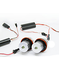 2pcs 20W LED-Engelsauge für b-mw e53 Automodelle weiße Farbe