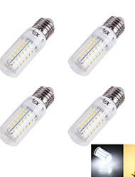 4W E26/E27 LED a pannocchia T 56/pcs SMD 5730 240 lm Bianco caldo / Luce fredda Decorativo AC 220-240 V 4 pezzi