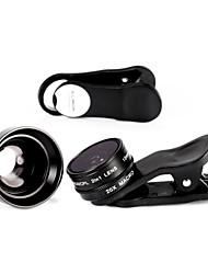 illimon® m15 + m60 Telefon Objektiv 150 ° Superweit + cpl + 20 × Makro / 2 × Telefon + Gegenlichtblende Set