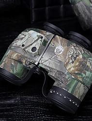 ESDY® 10x 50 mm Binocolo BAK4 Impermeabile / Fogproof / Resistente agli urti / Tattico / Militare 132/1000M Messa a fuoco centrale