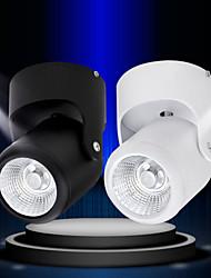 5w montage 500lm surface conduit cob downlight mené la lumière piste spots AC85-265V