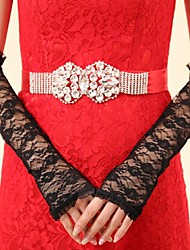 Elbow Length Fingerless Glove Lace Bridal Gloves Party/ Evening Gloves Spring Summer Fall Winter lace