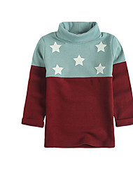 Girl's Tee,Cotton Winter Red