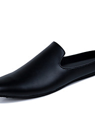Men's Shoes Casual Loafers Black / White