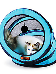 Cat Toy Pet Toys Tubes & Tunnel Foldable Textile