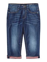 Meters/bonwe Men's Jeans / Culotte Pants Blue / Dark Blue-255165