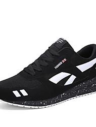 Da uomo-Sneakers-Casual / Sportivo-Ballerine-Piatto-Scamosciato-Nero / Blu / Rosso