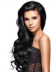 perruques de cheveux humains pour les femmes brésiliennes vierge de couleur de cheveux de wavyhuman de cheveux (# 1 # 1b # 2 # 4)