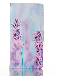 For Samsung Galaxy S7 Edge Card Holder / Wallet / with Stand / Flip / Pattern Case Full Body Case Flower PU Leather SamsungS7 plus / S7