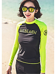 Women Diving Suit UV Swimsuit Conjoined Sun-protective Swimwear Jellyfish  Long-sleeve Wetsuit Suits=Top+Pants+Legging