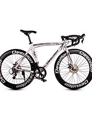 dequilon алюминиевый дорожный велосипед 16 скорость мышц мачете рука стала одним из профессиональной версии классический белый