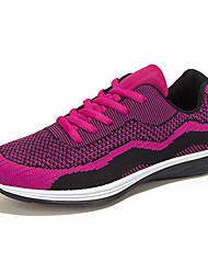 Turnschuhe Damen Schuhe Tüll Schwarz / Grün / Rot