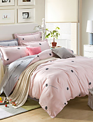 100% Cotton Dandelion Bedclothes 4pcs Bedding Set Queen Size Duvet Cover Set good qulity